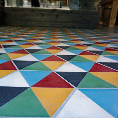 Used raised floor tiles